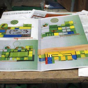 La fabricación de parques infantiles de interior