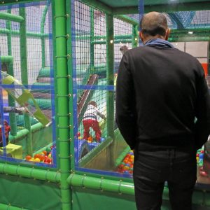 Fabricacion de parques infantiles de interior
