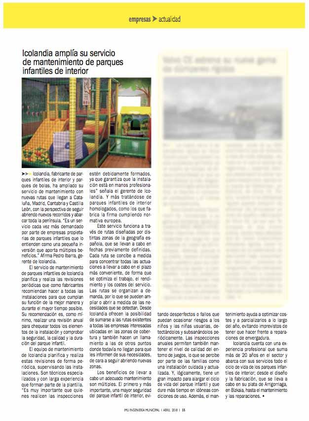 revista Ingeniería Municipal