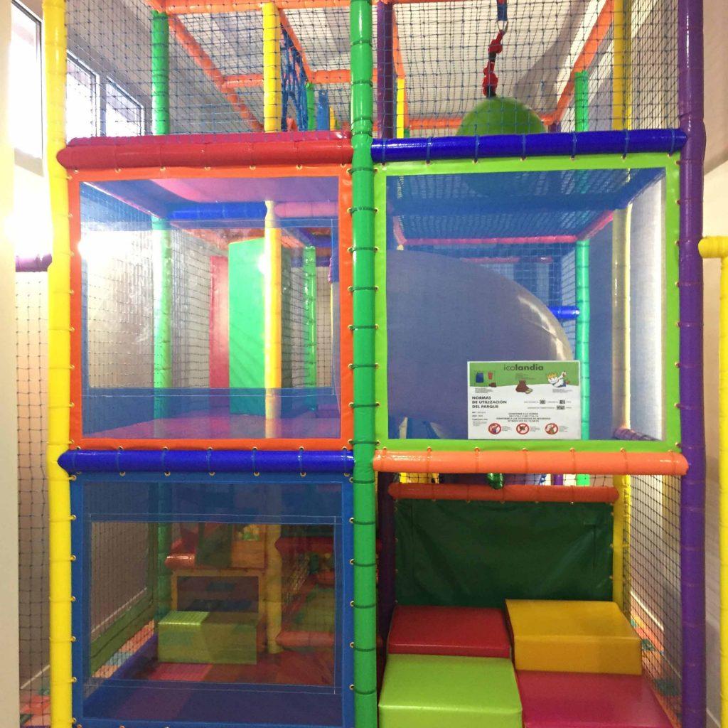 Zona infantil en un hotel